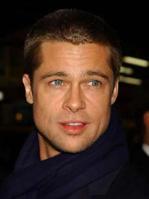 brad pitt hairline. rad pitt movies 2009