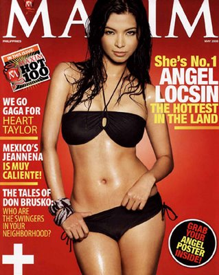 angel locsin maximmay08 Congratulations Angel Locsin – Voted as our Sexiest Pinay Babe 2009