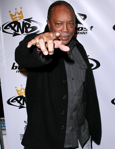 In today's news on CNN, there are confirmed reports that Quincy Jones is ...