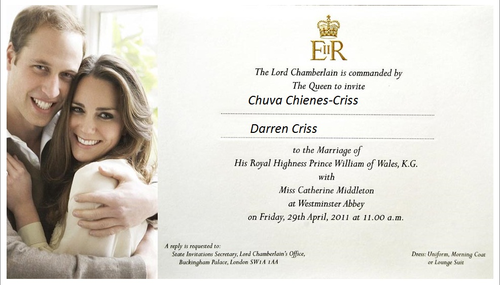 royal wedding prince william invitation. Prince William and Kate#39;s