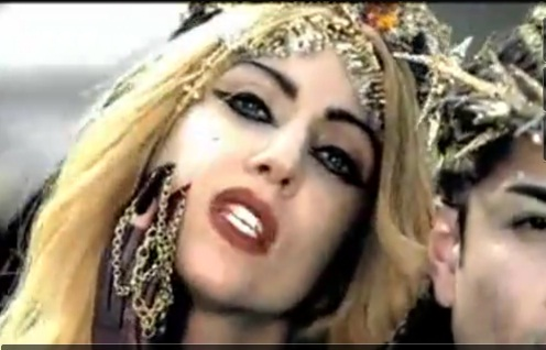 lady gaga judas video pictures. Lady Gaga#39;s Judas was to