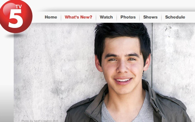 David Archuleta's trip to the