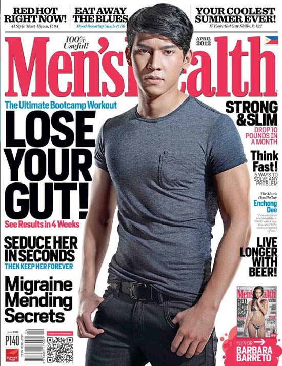 enchong dee mens health cover april 2012