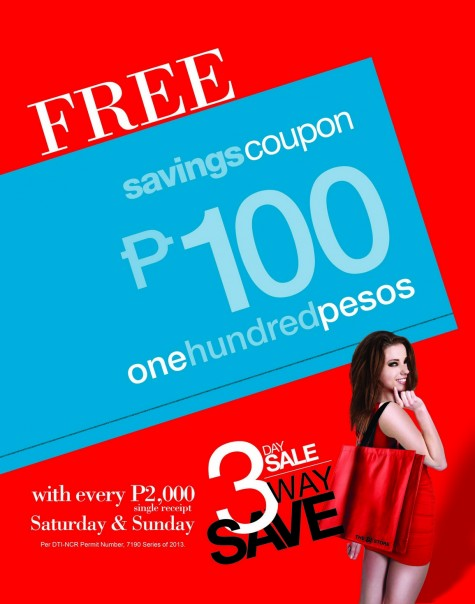 Cash Coupon Poster Revised New