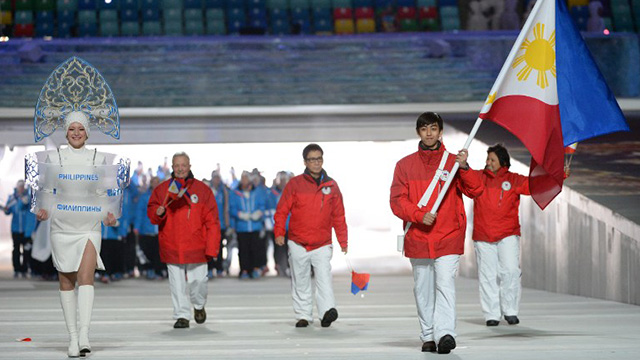 Lone Filipino Winter Olympian: Michael Christian Martinez to compete this week.
