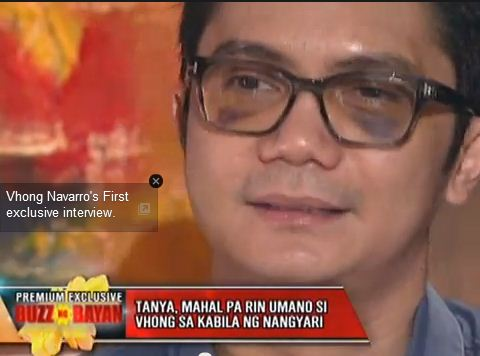 Latest Interview: Vhong Navarro on The Buzz - Feb. 9, 2014 (VIDEO)
