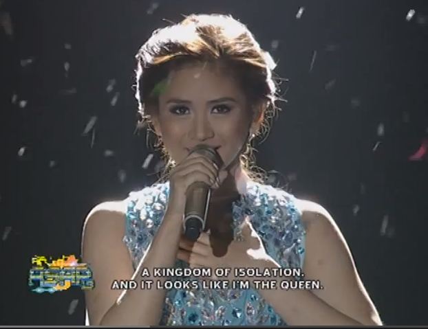 "Let It Go - Regine Velasquez ""Asia's Songbird""  vs.  Sarah Geronimo  ""Pop Princess"" (POLL)"