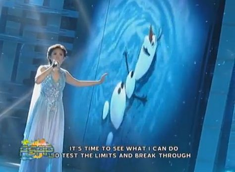"Sarah Geronimo's Rendition of Frozen's ""Let It  Go"" (VIDEO)"