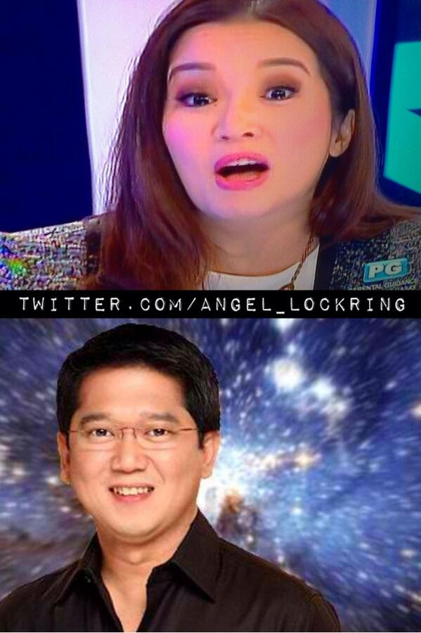 Humored or Shocked?  #Kristek  Kris Aquino dating Herbert Bautista?