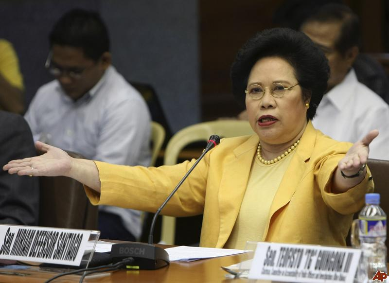 Sen. Miriam Santiago Announced She Has Lung Cancer. #MiriamFight