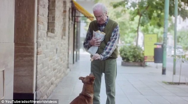 VIRAL VIDEO: The Man and the Dog.