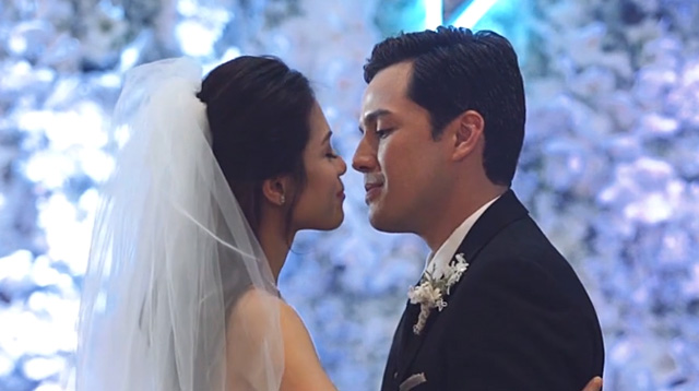 Cried a little.  No, cried a lot!  Ugh! The Paul Soriano and Toni Gonzaga Wedding Special.
