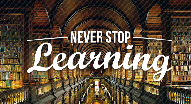 never-stop-learning